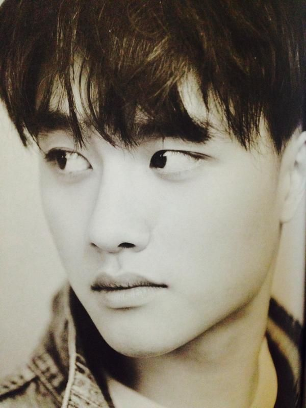 EXO released first photobook 'DIE JUNGS' D.O.