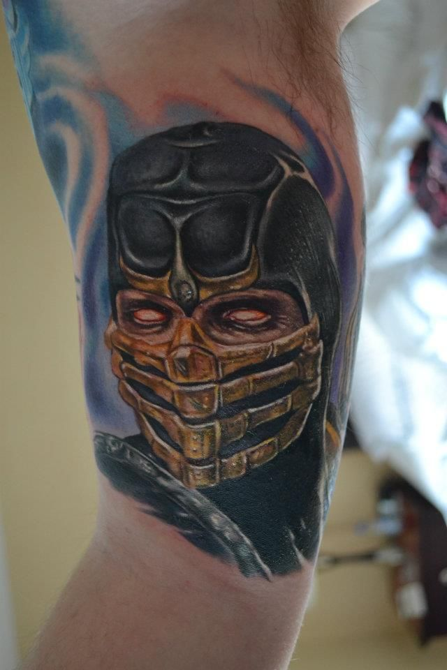 Tattoo Scorpion Mortal Kombat