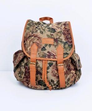 Szputnyik Medium Backsack - Roses - accessories / Bags
