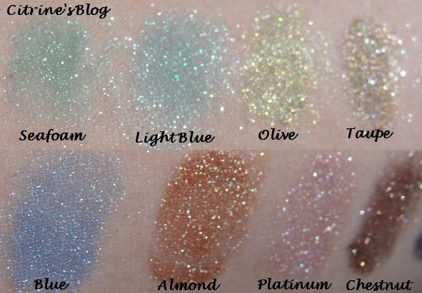 Nyx Roll On Shimmer Eye Shadow Swatches Citrines Blog Beauty