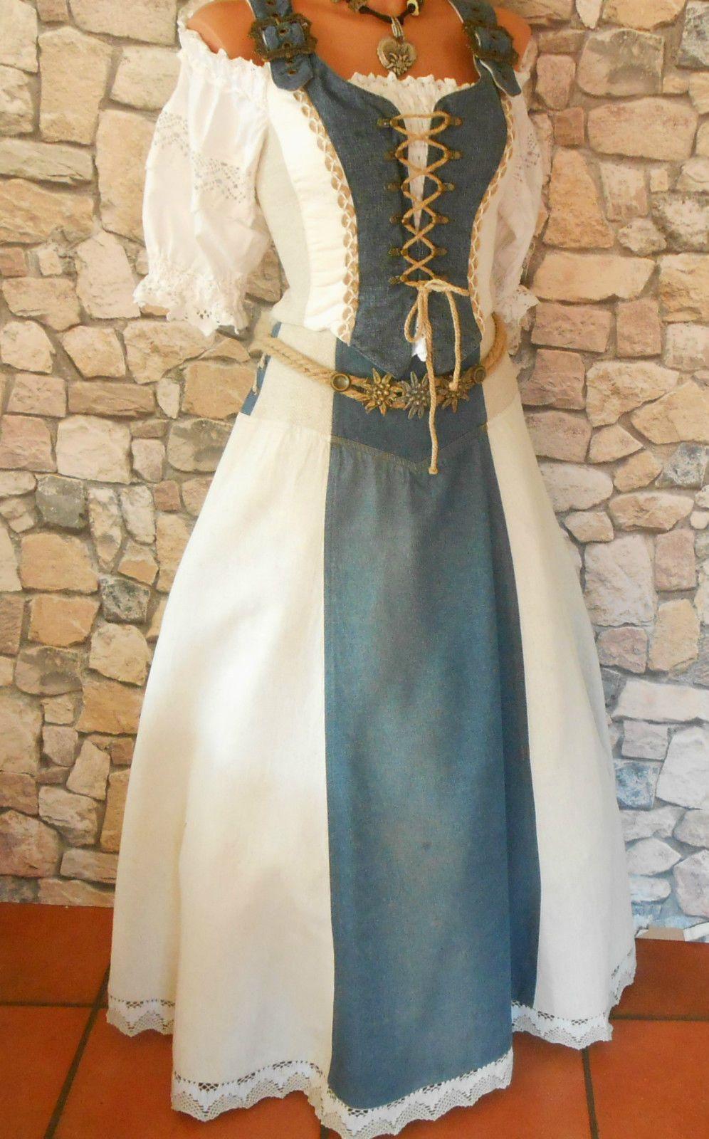 Dirndl Trachtenkleid Landhauskleid Gr 40 In Kleidung Accessoires