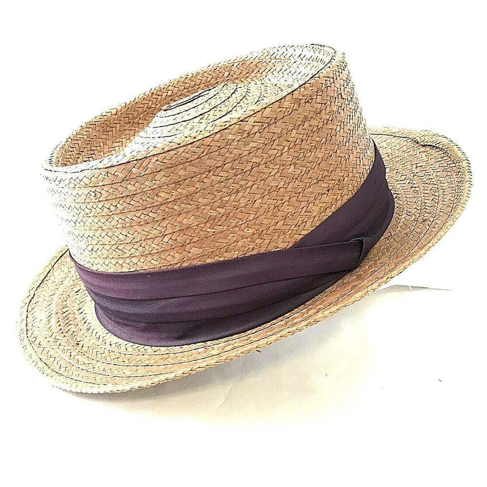 VintageBrooks bros.coconut hat boat,beach