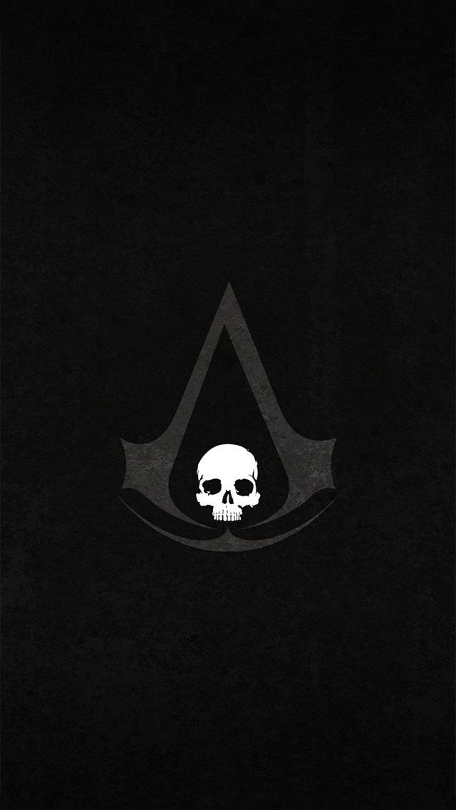 Assassin Creed Logo Smartphones Wallpaper Seni