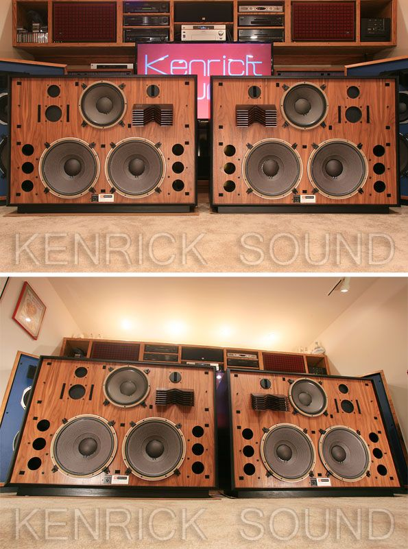 Jbl 4350 新品フルレストア ブラックアッシュ 215 ウォールナット ケンリックサウンド(kenrick