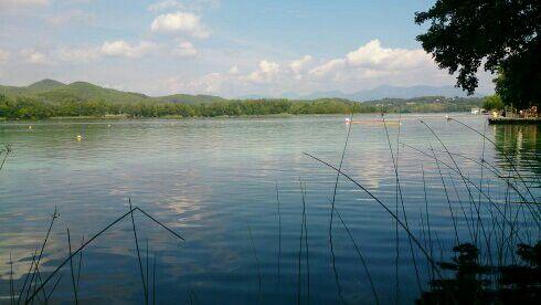 Lago Banyoles, Cataluña España