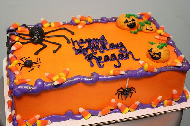 t302 Halloween birthday Birthday cakes and Cake