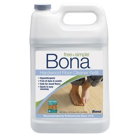 Bona Free And Simple 128 Fl Oz Hardwood Floor Cleaner Wm700018182 Floor Cleaner Hardwood Floor Cleaner