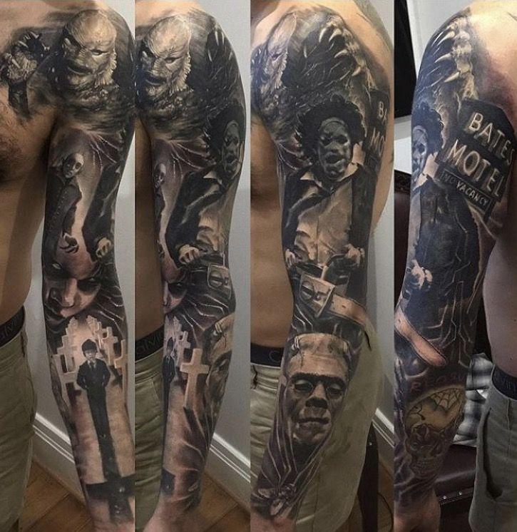 Creepy Tattoo Love It Horror Movie Tattoos Movie Tattoos
