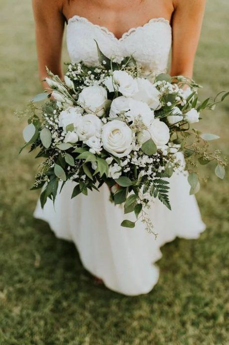 56+ Trendy Wedding Bouquets White Simple Style -   16 wedding Bouquets bridesmaids ideas