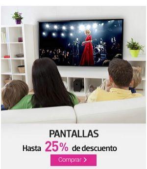 Liverpool: pantallas con hasta 25% de descuento