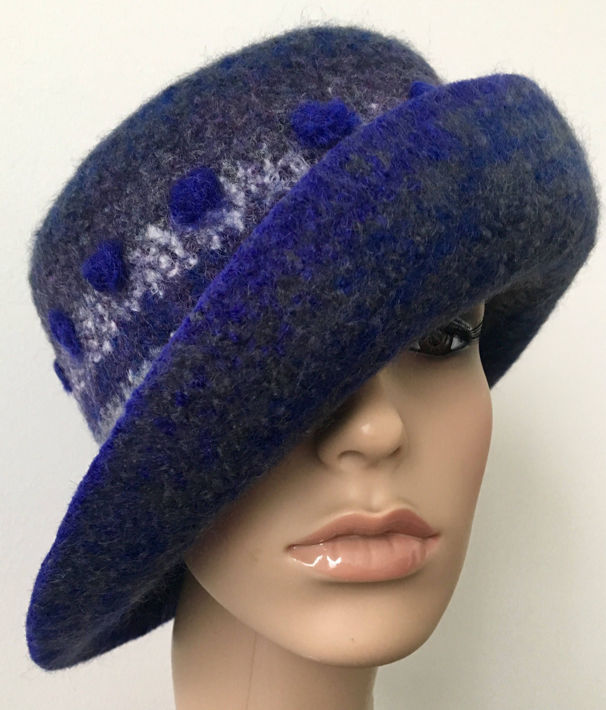 111f1832cf4 Coolest felted wool hats on Etsy! Custom orders are no problem! Any color