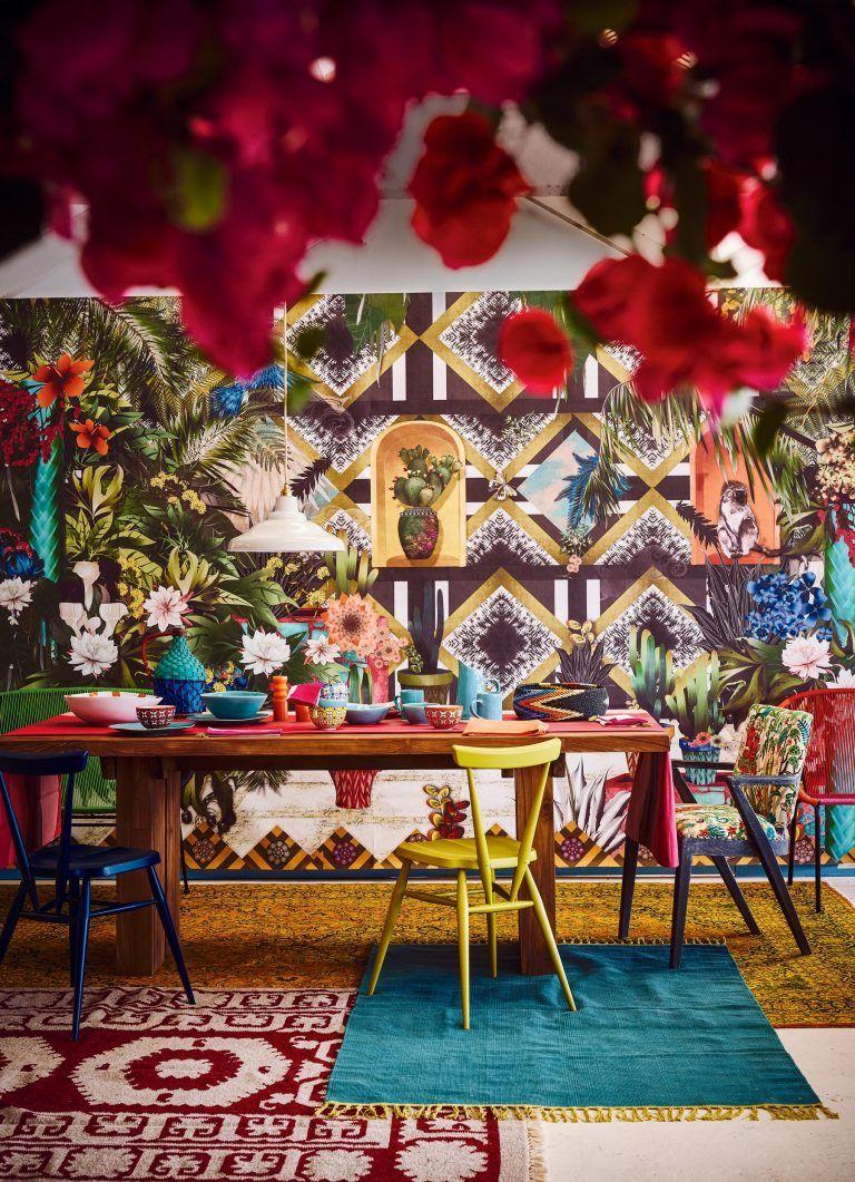 Interior Trend Frida Kahlo Style Viva La Frida Mexican Style