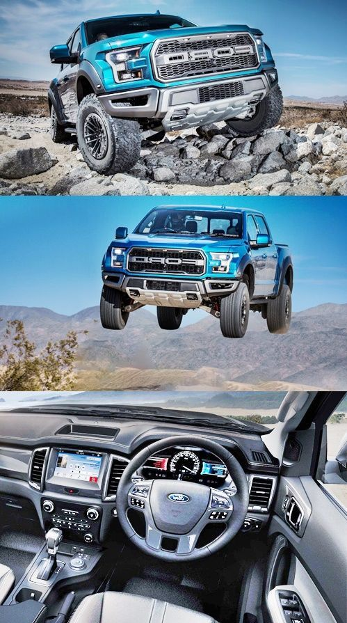Ford F150 Raptor is, inside and out, almost identical to