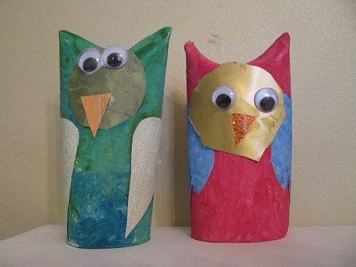 Crafty owls cardboard tubes owl and toilet tube for Toilet paper tube owls