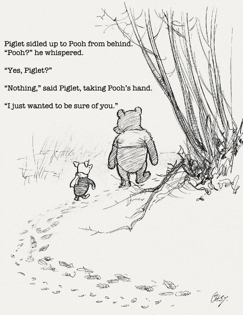 Quotes From Winnie The Pooh About Friendship Pooh  Friendship Thoughts And Wisdom