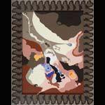 """Silvia Klainscek, """"Diagramma organico"""" - 2003-2005 - acrilico su cartone incollato su tavola e cornice di legno dipinta - cm 47,5x61 PROLOGOART"""