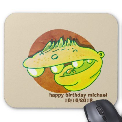 Funny kid stupid face cartoon mouse pad kids birthday gift idea funny kid stupid face cartoon mouse pad kids birthday gift idea anniversary jubilee presents negle Image collections