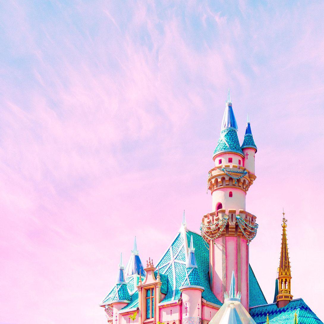 Sparkly Castle - 16\ x 16\