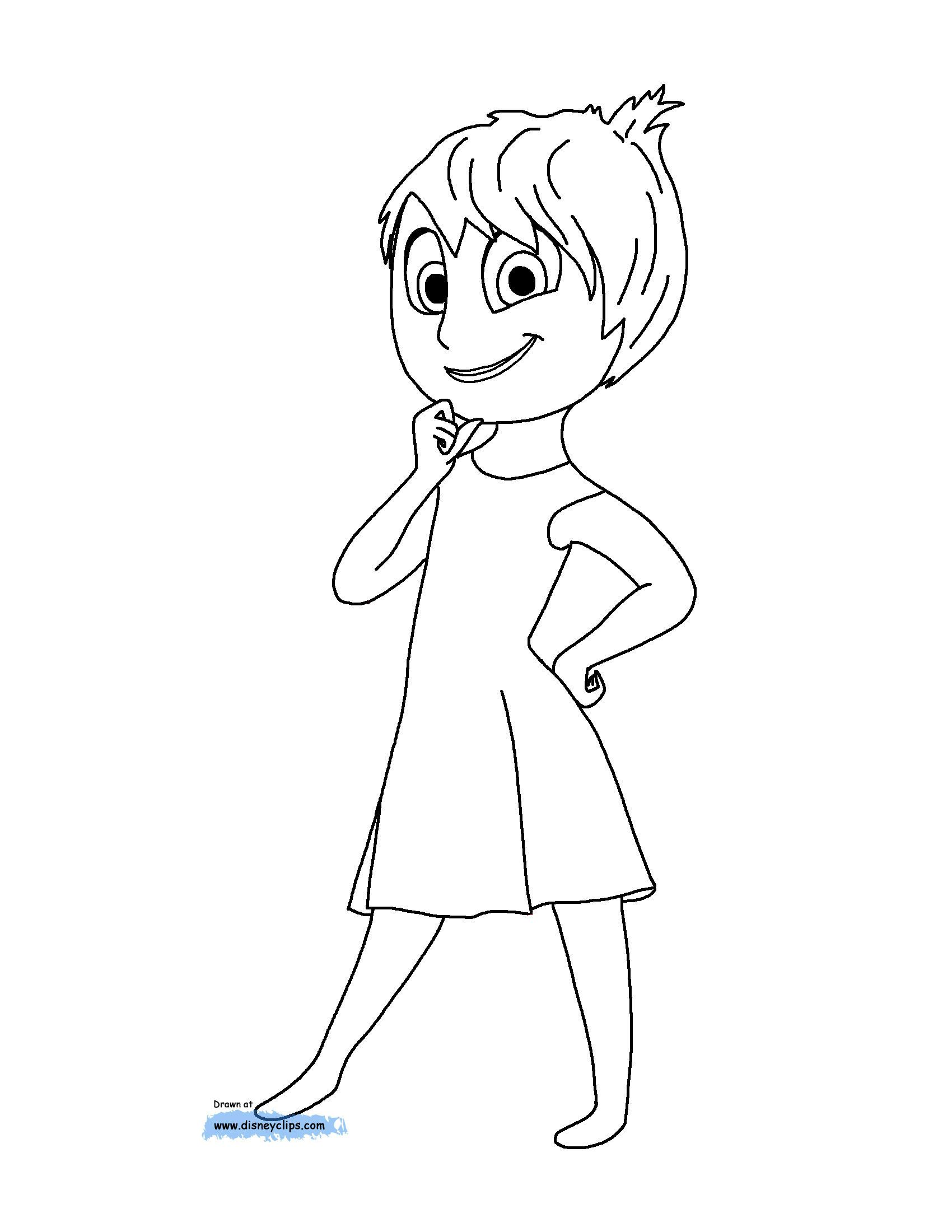 Disney S Inside Out Movie Coloring Pages Create Play Travel Inside Out Coloring Pages Disney Coloring Pages Coloring Pages