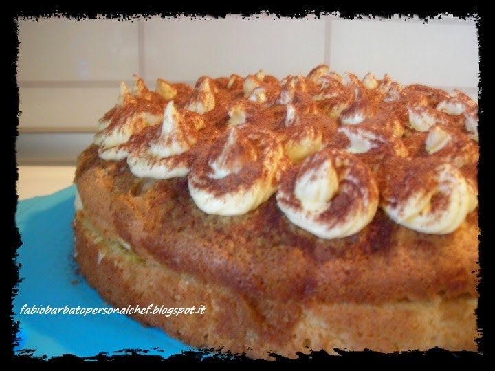 Torta di Pan di Spagna al Caffè con crema al Mascarpone ~ Fabio Barbato Personal Chef
