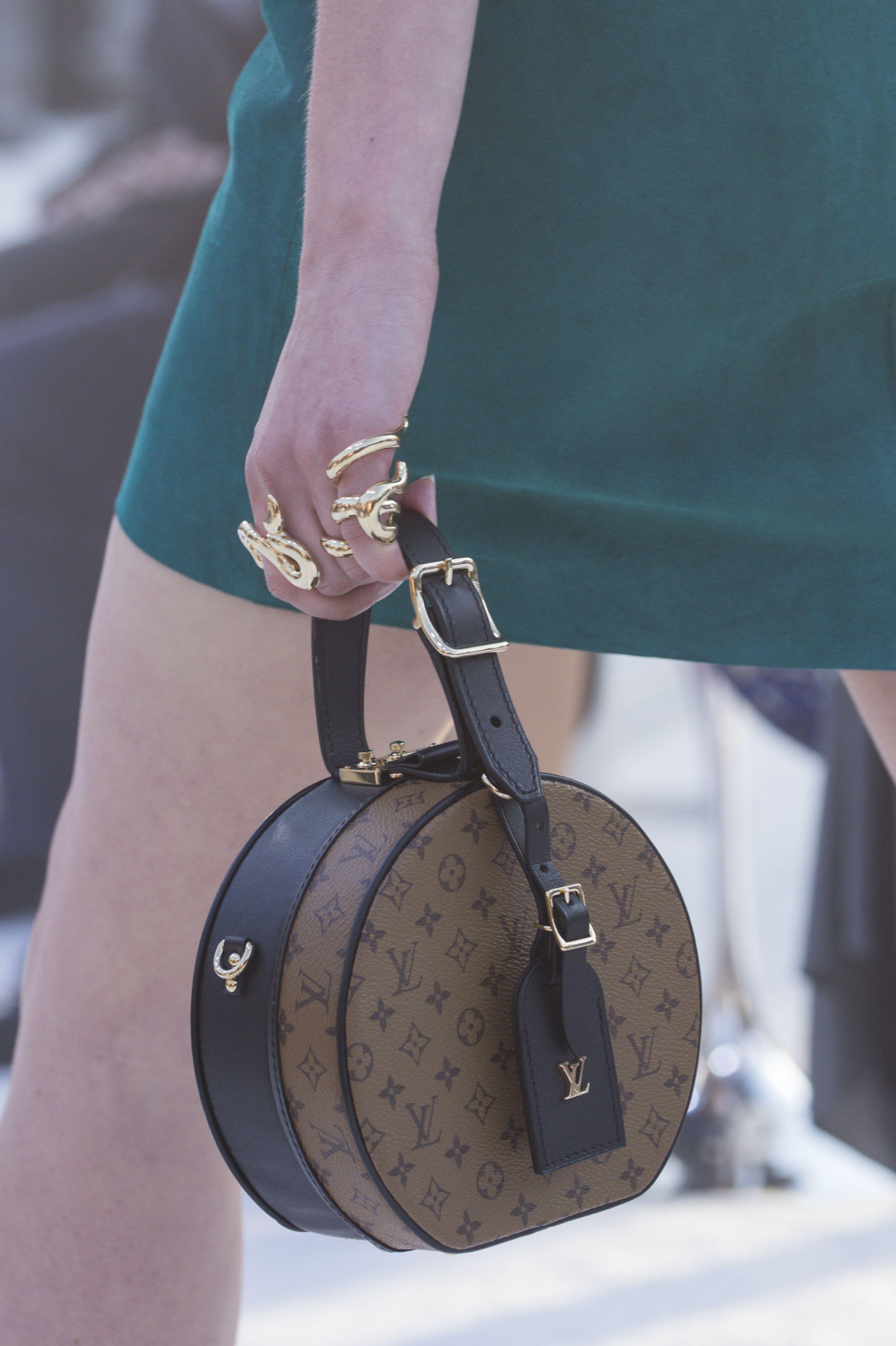 3915fda5ef91 A bag from the Louis Vuitton Cruise 2018 Fashion Show by Nicolas  Ghesquière