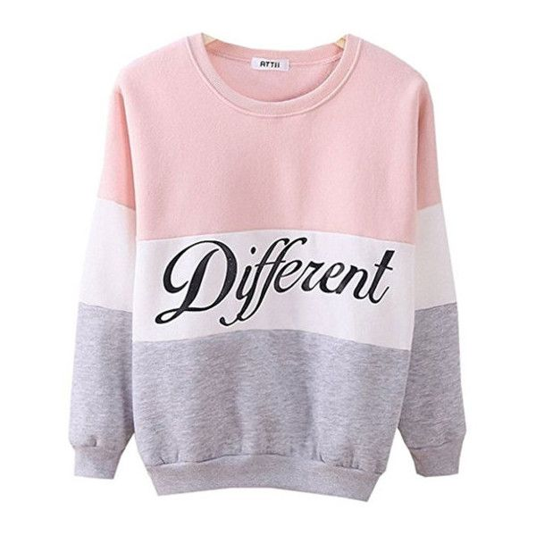 Women's Cute Hoodies Sweater Pullover Letters Diffferent Printed ...