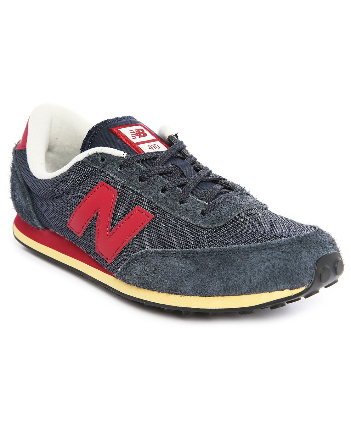 f320c2b268 New balance 410 Navy Suede And Mesh Sneakers in Blue for Men (navy) | Lyst