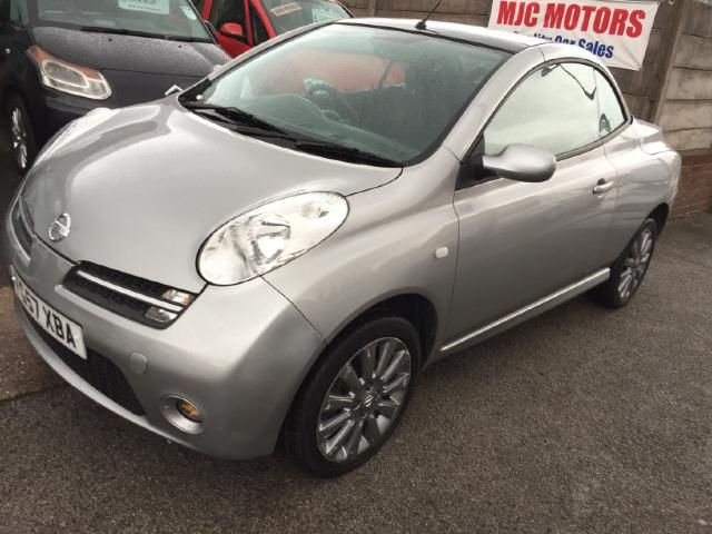 Nissan Micra C+C 1.6 Sport 2d Used Car for Sale | Parkers | NISSAN ...