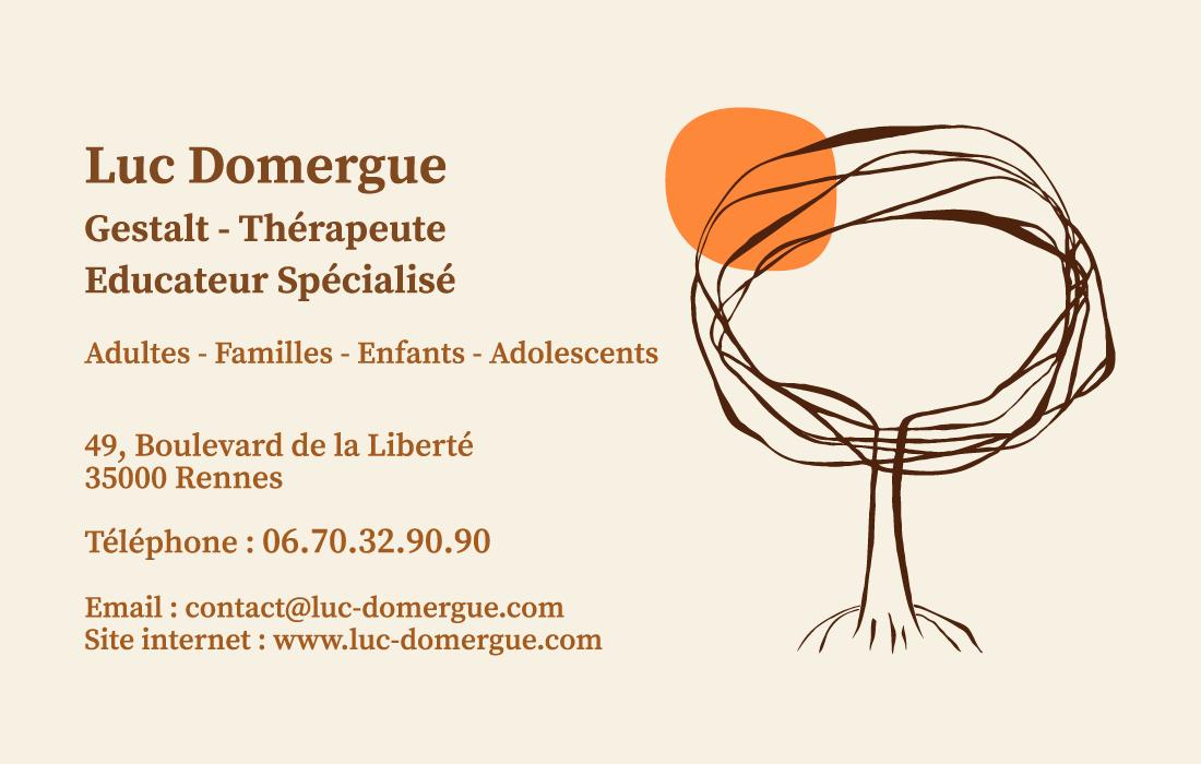 Un Logo Pour Le Gestalt Therapeute Luc Domergue Rennes Rennes Site Internet Michel De Montaigne