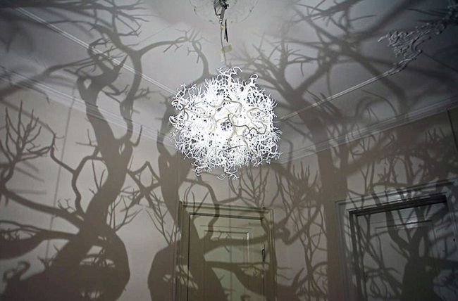 This Spooky Looking Chandelier In 2019 Cool Chandeliers