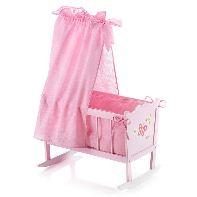 Con Esta Cuna De Juguete Para Muñecas De Bayer Chic 2000 Estimularás La Imaginación Y Creatividad De Tus Baby Doll Accessories Baby Girl Toys Baby Doll Nursery