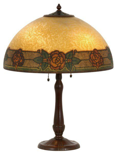 Handel 16 In Arts Amp Crafts Table Lamp On In 2019 Table