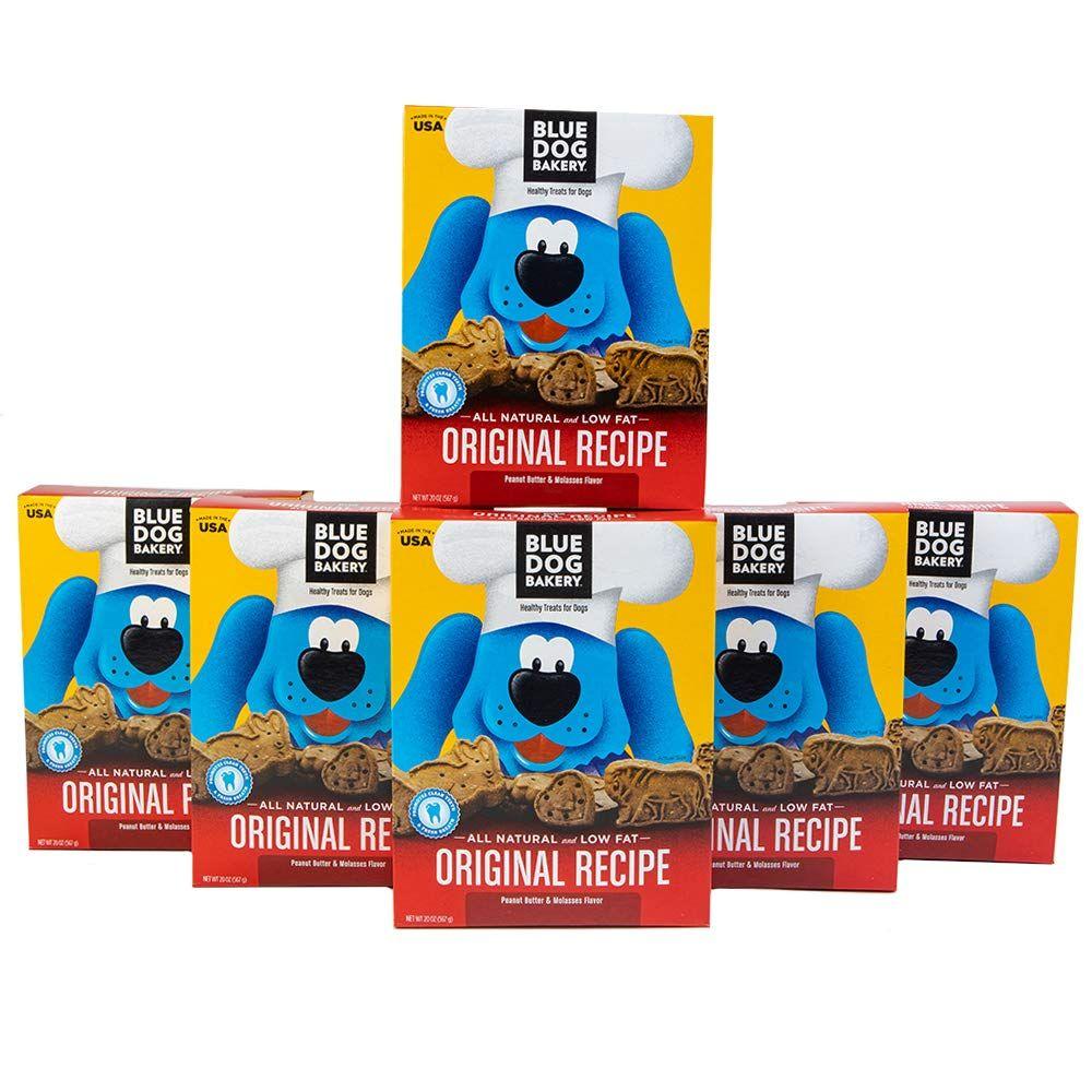 Blue dog bakery natural dog treats original peanut