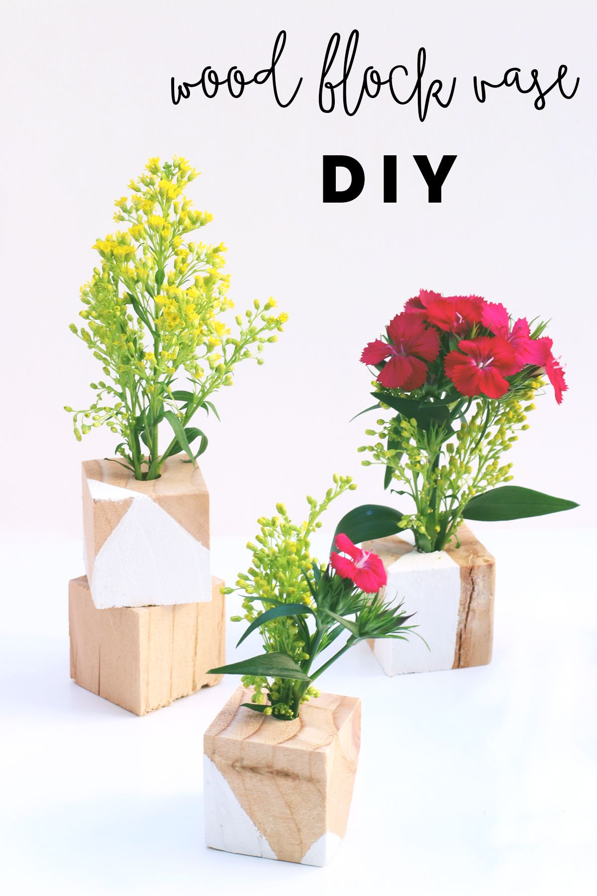 Wood Vase Diy - Love Plus Color