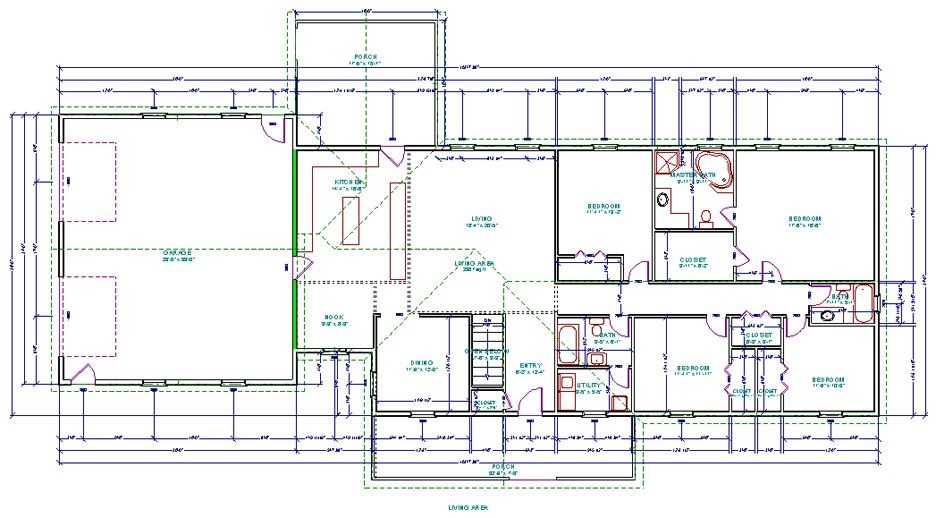 Wilson Floor Plan Redstonehomekits Com House Plan Maker Build Your Own House House Plans