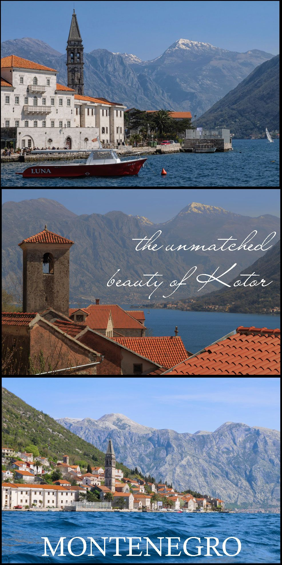 On Our First Day In Montenegro We Sat A Patio The Main Square Of Old Town Kotor Were Under Central Clock At Gate Where