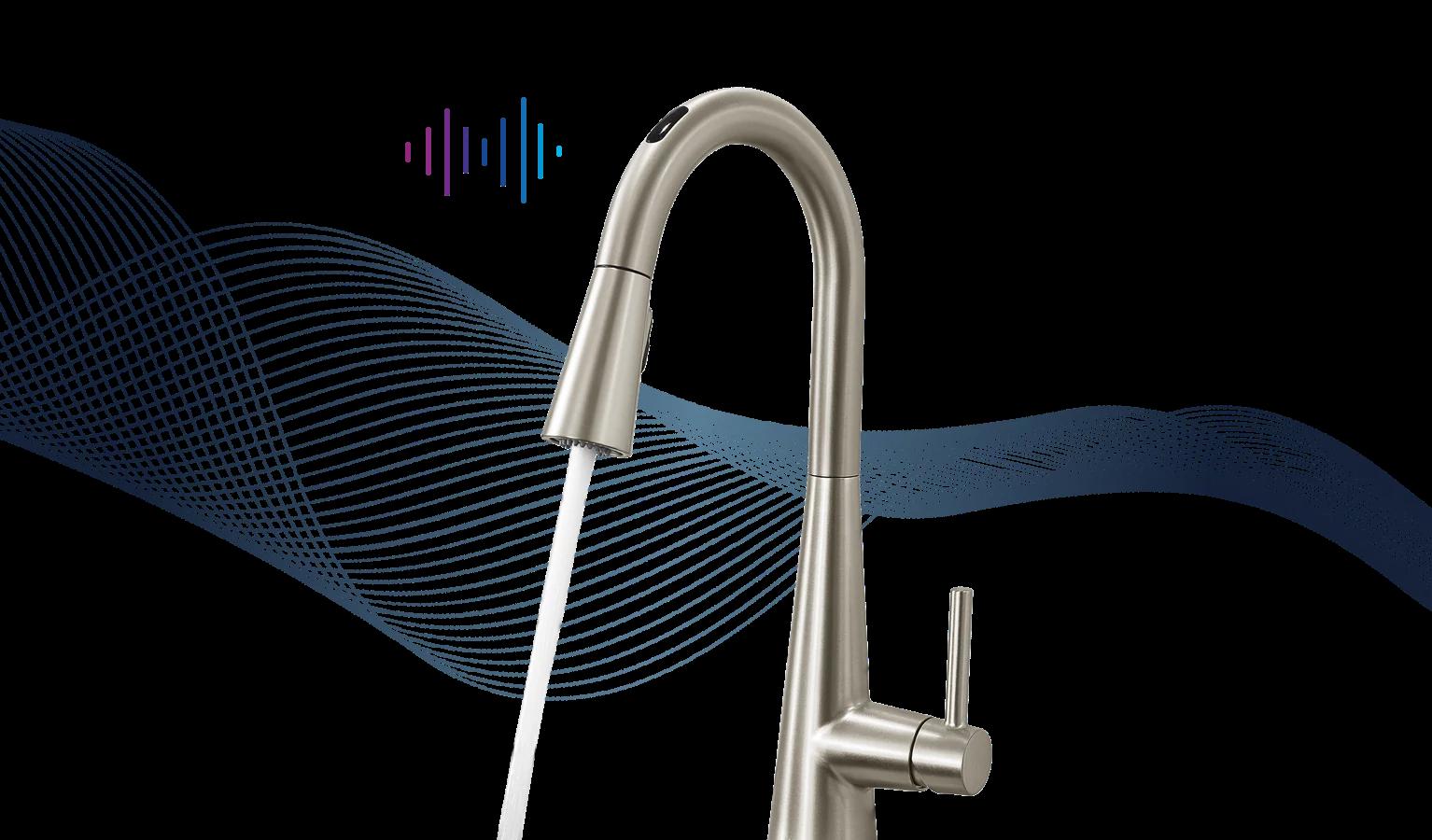 u by moen smart faucet smart home