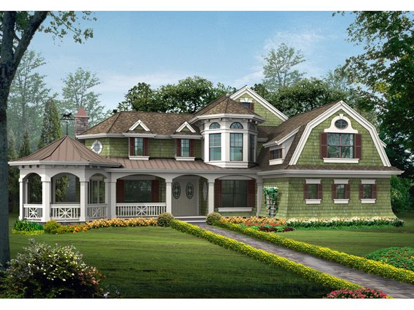 Cannaday Country Victorian Home Victorian House Plans Colonial House Plans House Plans Mansion