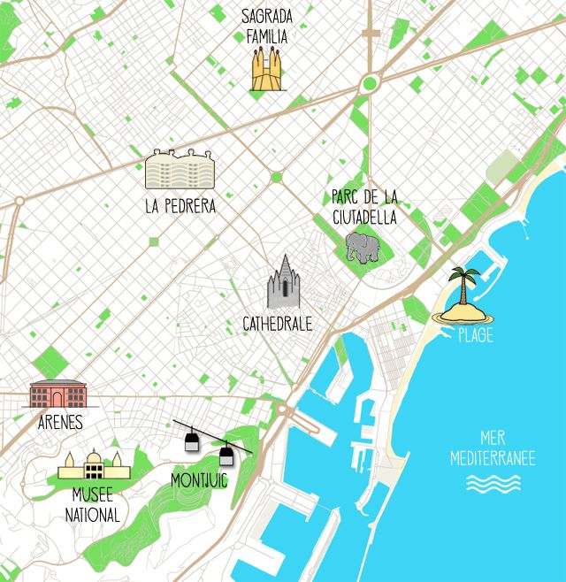 Carte Barcelone Vacances.City Guide 3 Jours A Barcelone Spain Is Always Good Idea