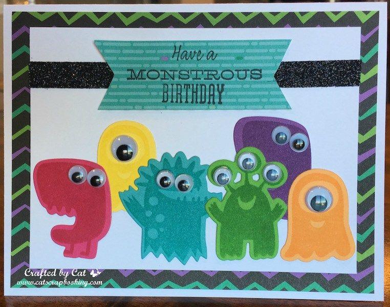 Jeeper Creepers Monstrous Halloween Birthday Catscrapbooking Com