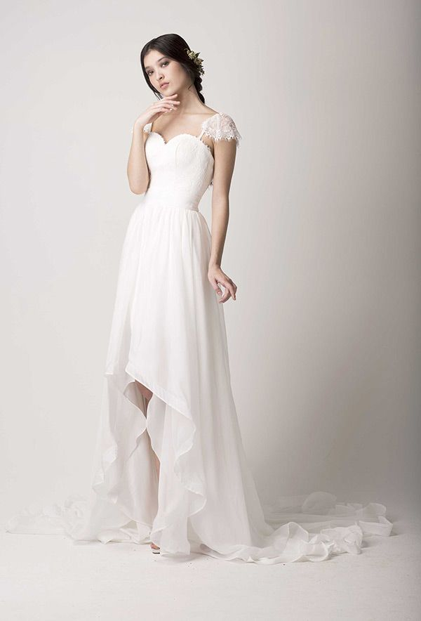 25 Of The Most Ridiculously Beautiful Hi Lo Wedding Dresses