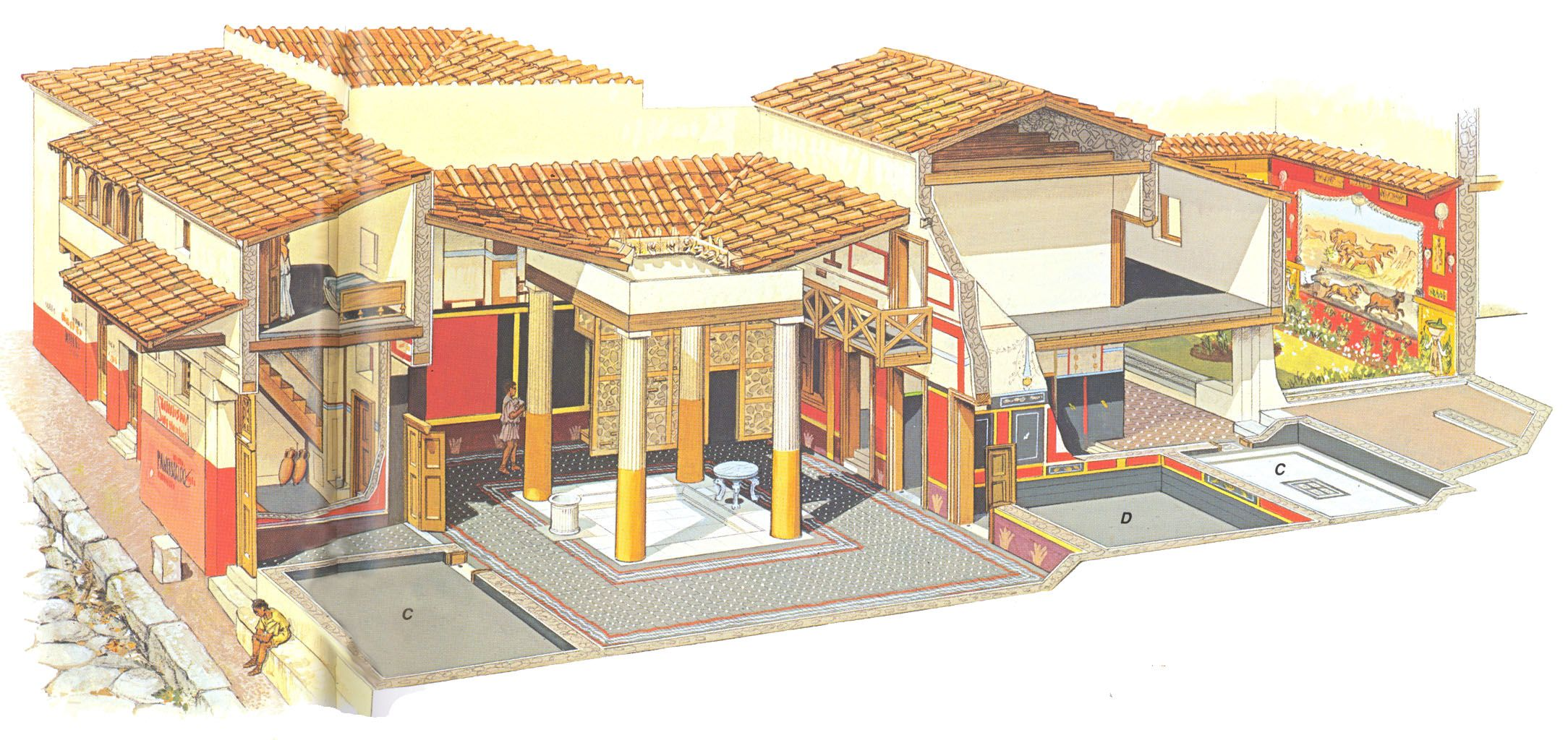 дом римлянина картинки отблеск нитей