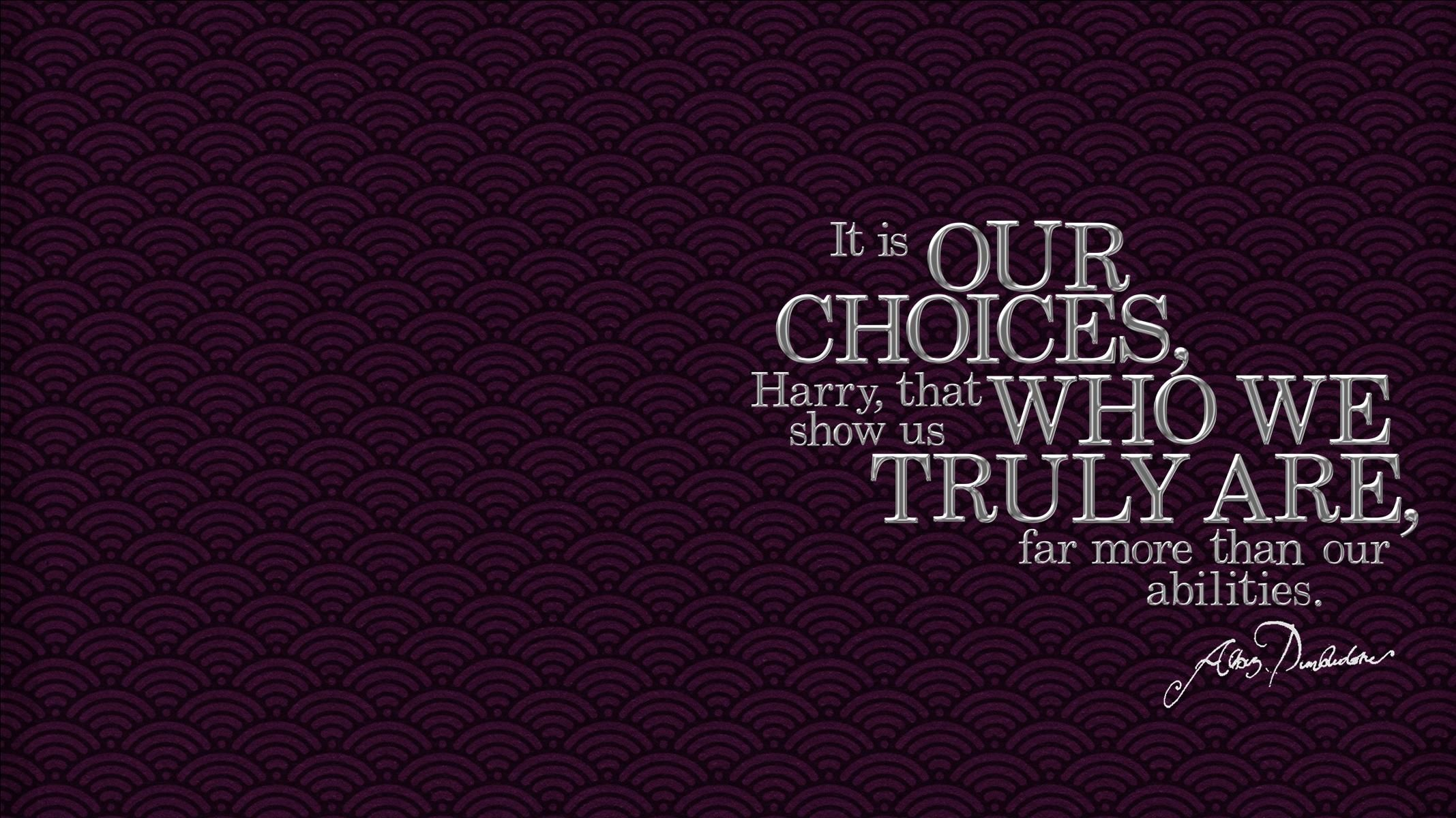 Dumbledore Quote Widescreen Wallpaper Widescreen Wallpaper Made By