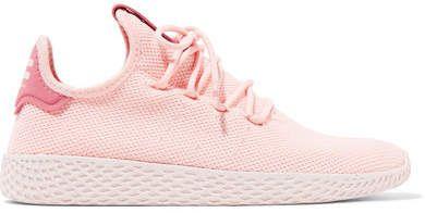 5214c382f adidas Originals - Pharrell Williams Tennis Hu Primeknit Sneakers - Pastel  pink  adidasoriginals  pharrellwilliamsadidas  pastelpink  sponsored