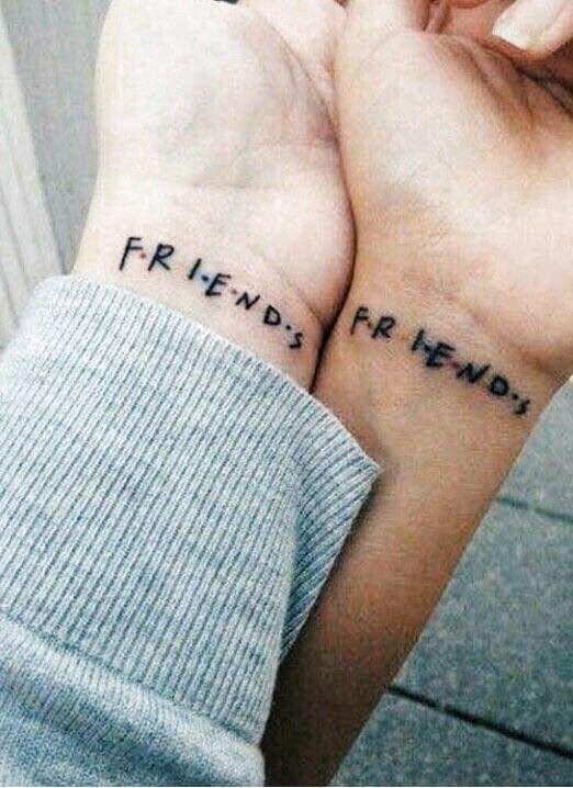 Mini Tattoos Best Friends | Mini Tattoos