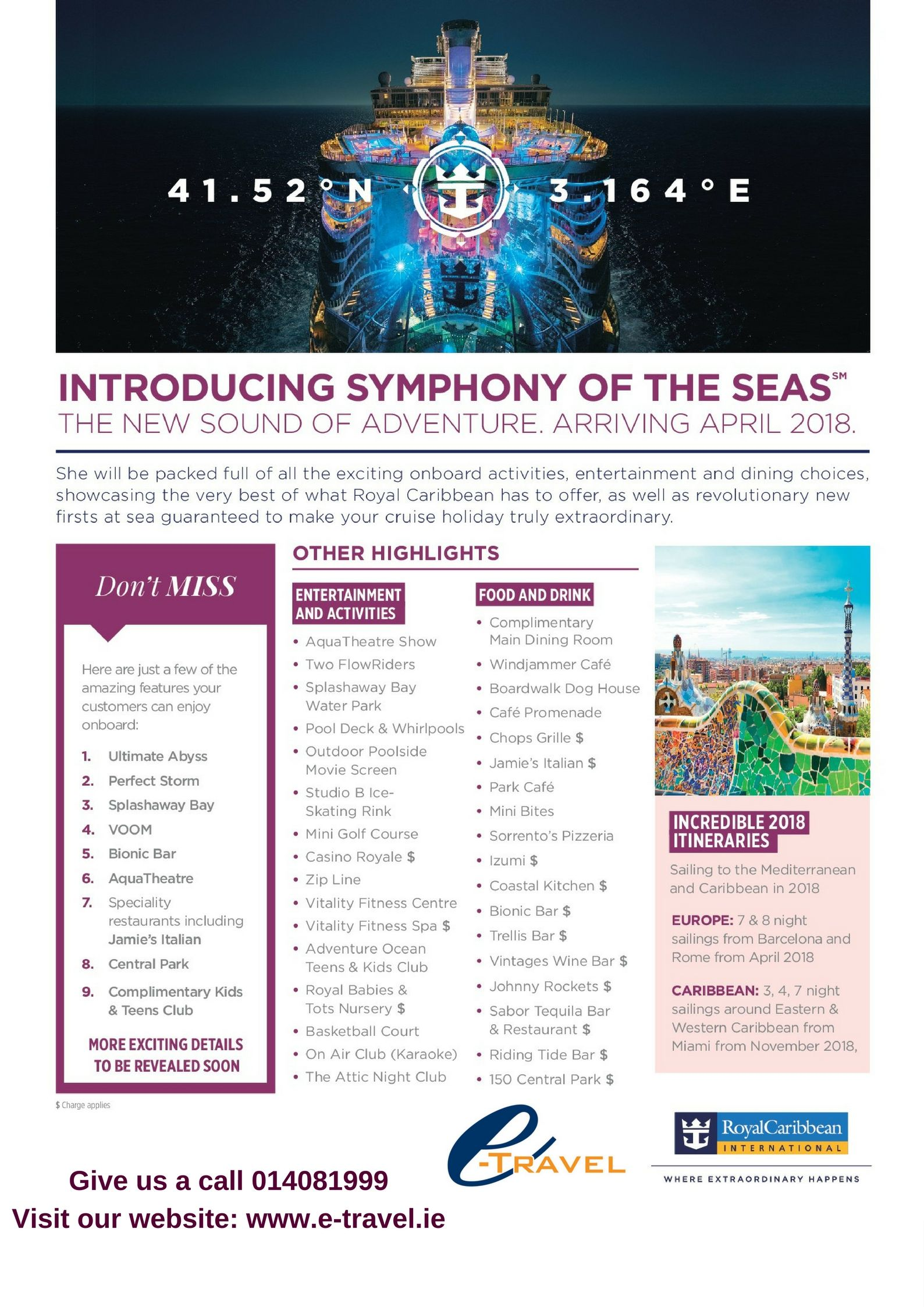 Introducing Symphony Of The Seas!