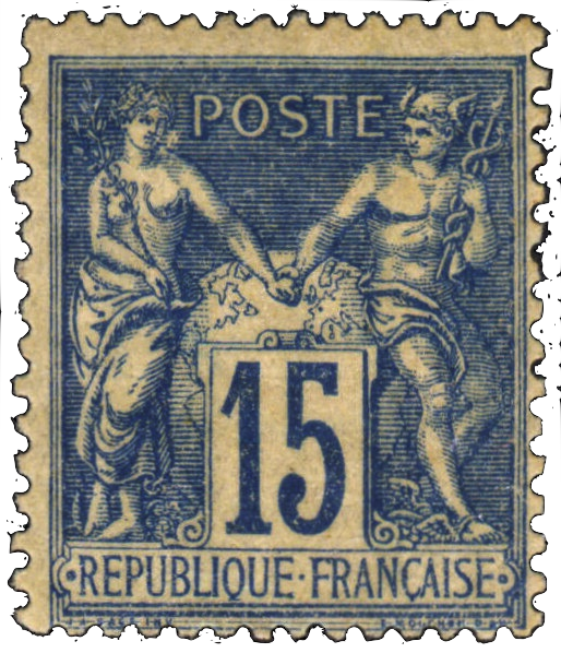 French Postage Stamp Timbres De France Timbre Poste Timbres Postaux