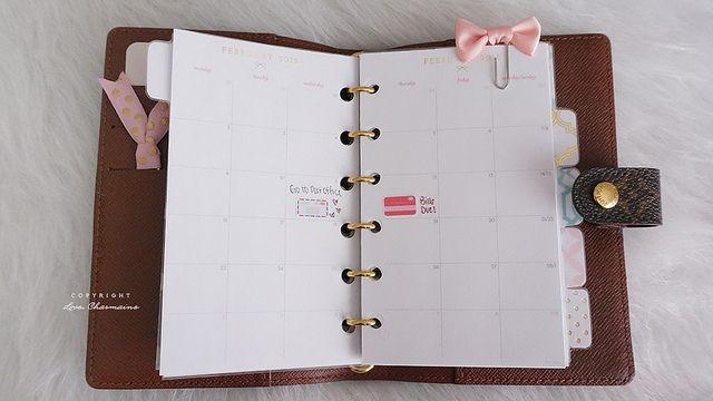 1aee0a503e15 Louis Vuitton Agenda PM – My Set Up