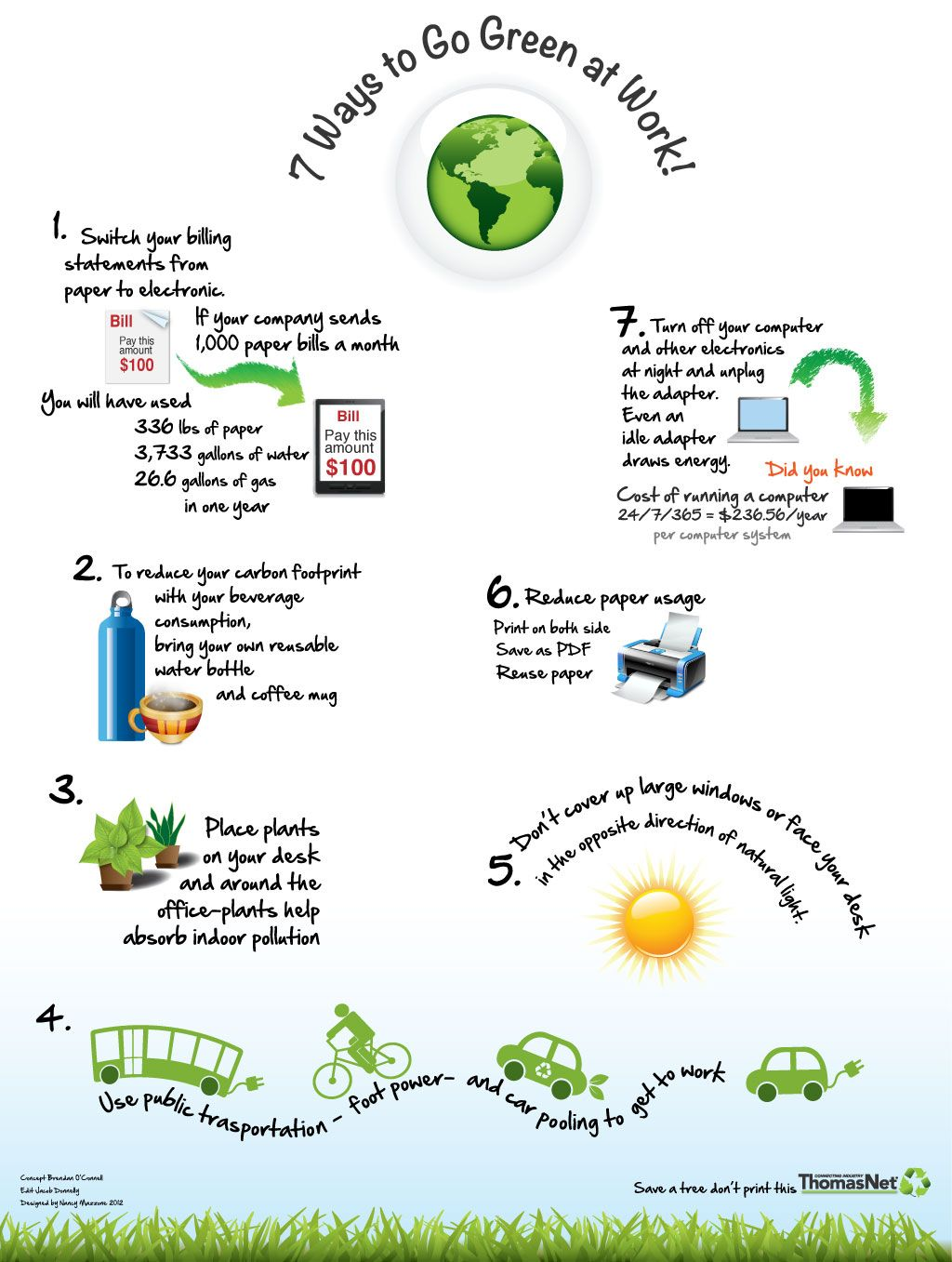 7 Ways to Go Green