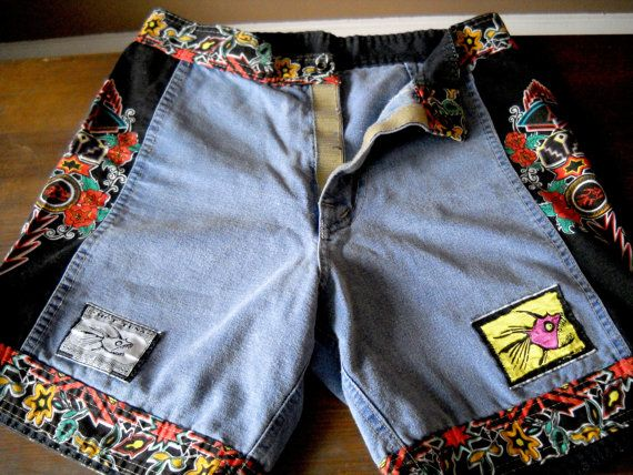 d7dee31923 Vintage Hot Tuna board shorts // women's size 3 | retro vibes poster ...